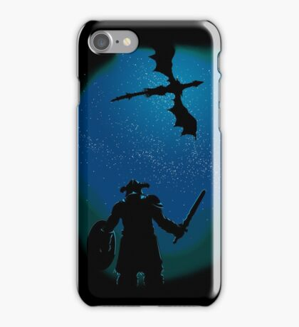 Under a Sky Ruled by Dragons iPhone Case/Skin