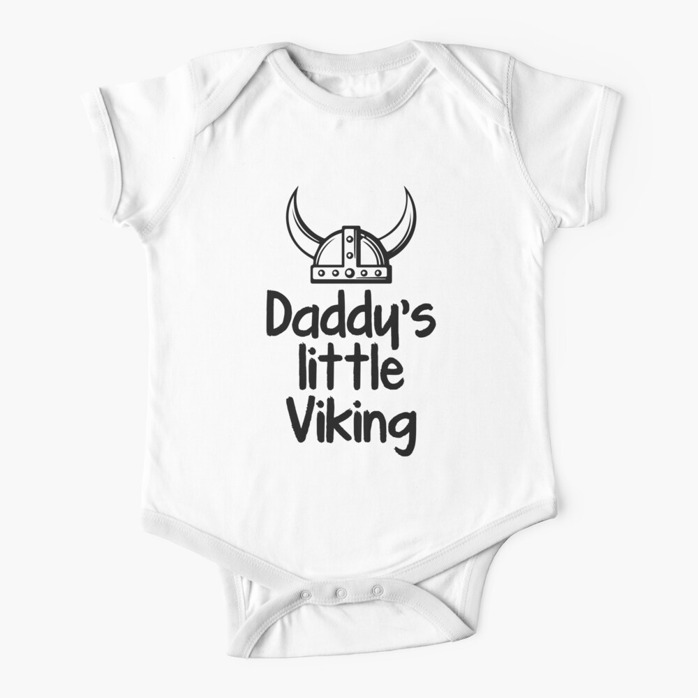 Daddy's Little Viking Baby One-Piece