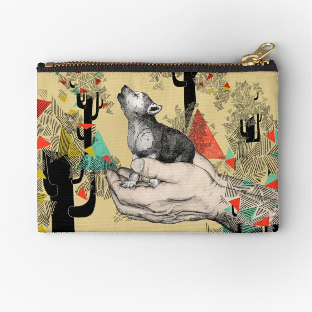 FOUND YOU THERE Zipper Pouch
