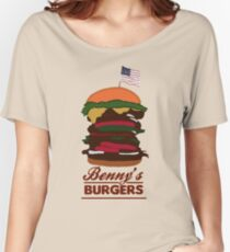 Benny's Burgers Women's Relaxed Fit T-Shirt