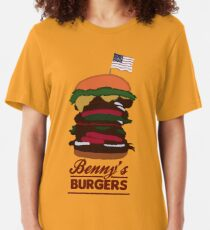 Benny's Burgers Slim Fit T-Shirt