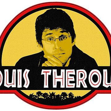 """""""Jurassic Louis"""" Jurassic Park Louis Theroux T Shirt BBC by ClassicClothing"""