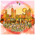 Atlanta Georgia by artmuvz