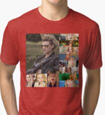 kATE MCKINNON COLLAGE PRODUCTS Tri-blend T-Shirt