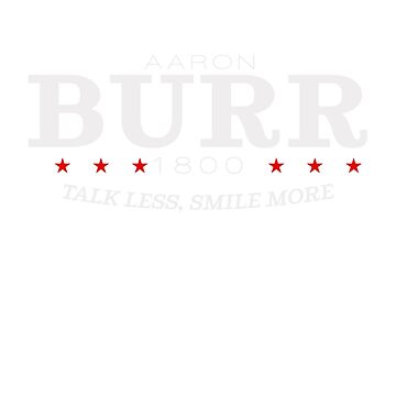 Vote Burr! by lindenash