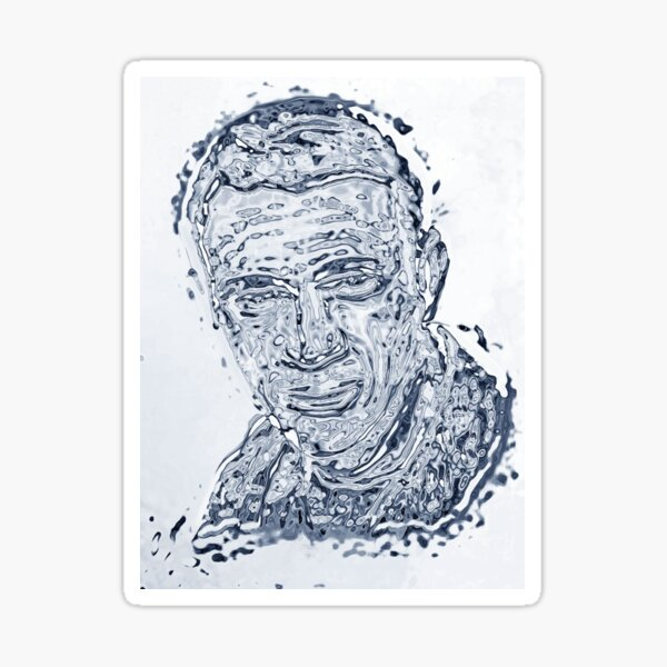 Der Steve McQueen T-1000 Sticker
