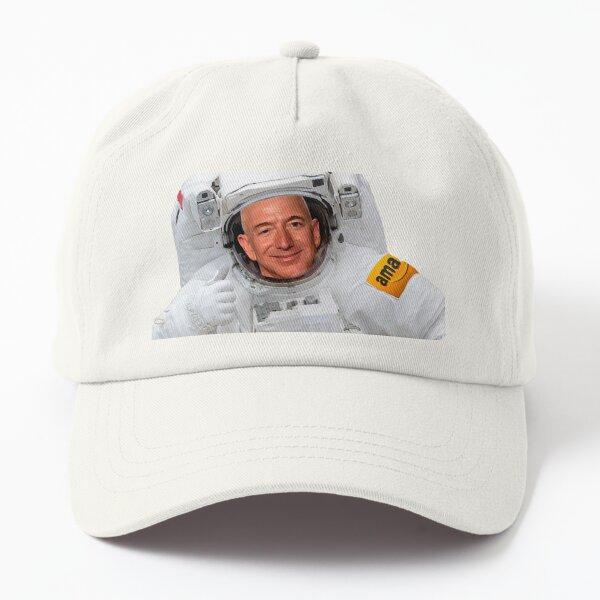 Jeff Bezos Astranaut  Dad Hat