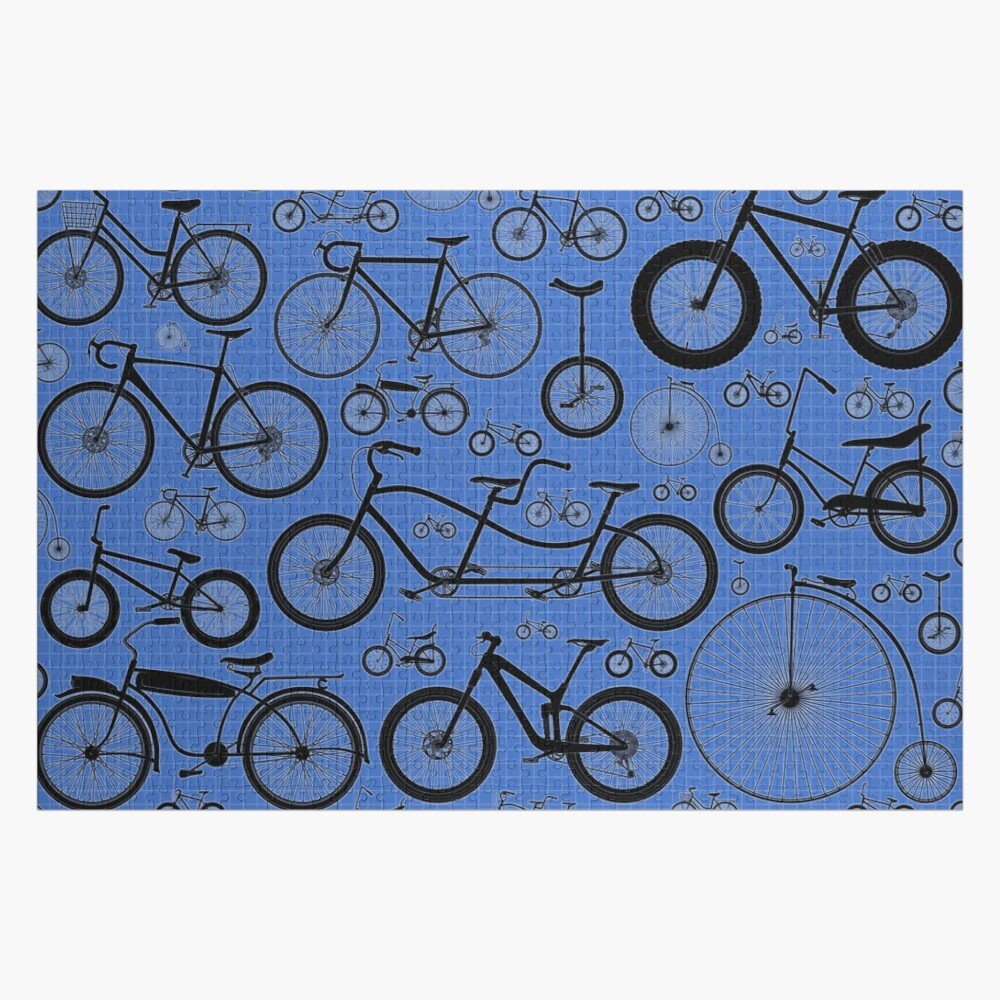 Tandem Bicycle Jigsaw Puzzle