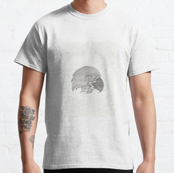 Eagle Face Sketch Classic T-Shirt