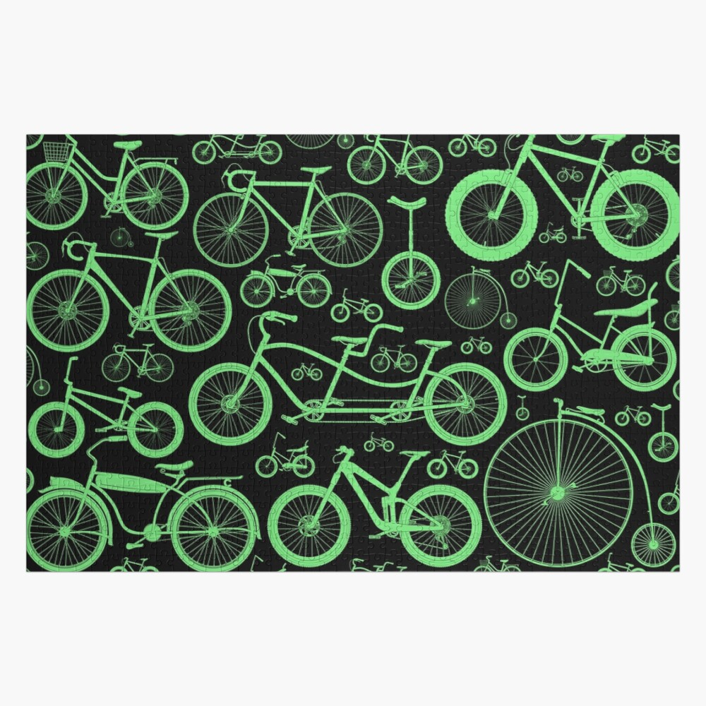 Cyclocross Bicycle Jigsaw Puzzle