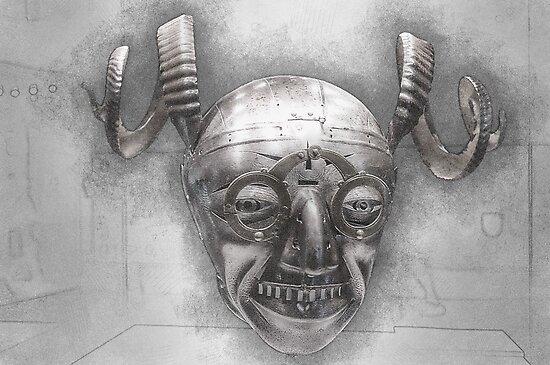 Henry VIII's horned helmet by angrypixel