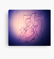BJJ Women - sales with a bit of arm triangle thrown in! Canvas Print