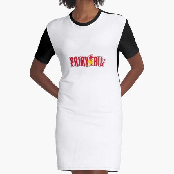 Best Selling -Fairy Tail  Merchandise Graphic T-Shirt Dress