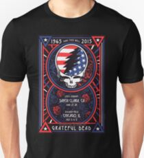 Grateful Dead at Levis Stadium, Santa Clara (50 Years) Unisex T-Shirt