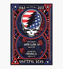 Grateful Dead at Levis Stadium, Santa Clara (50 Years) Photographic Print