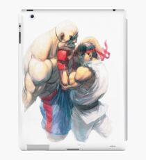 Street Fighter #1 - Sagat vs Ryu iPad Case/Skin