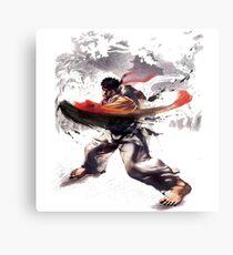 Street Fighter #2 - Ryu Metal Print