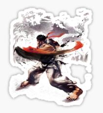 Street Fighter #2 - Ryu Sticker