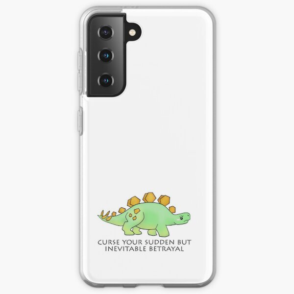Firefly Wash's stegosaurus quote. Samsung Galaxy Soft Case