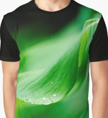 Suspending the droplets, Solomon's Seal, County Kilkenny, Ireland Graphic T-Shirt
