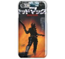 Mad Max Japanese Poster iPhone Case/Skin