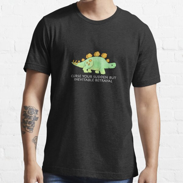 Firefly Wash's stegosaurus quote. (darker backgrounds) Essential T-Shirt