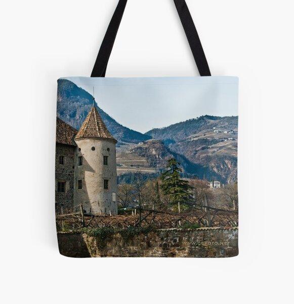 Schloss Maretsch (Castello Mareccio), Bolzano/Bozen, Italy All Over Print Tote Bag