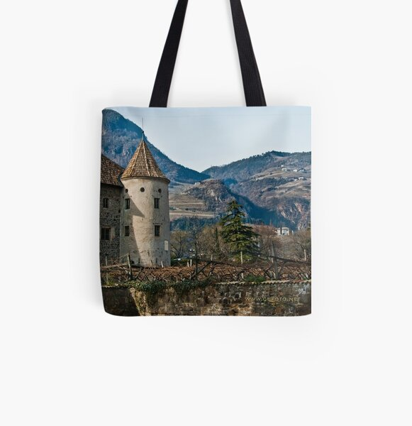 Schloss Maretsch (Castello Mareccio), Bolzano/Bozen, Italy All Over Print Tote Bag
