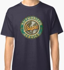 Authorized Vespa service sign Classic T-Shirt