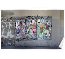 Art or vandalism Poster