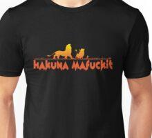Hakuna Matata - fuck it Unisex T-Shirt