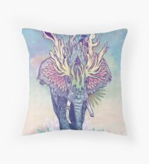 Spirit Animal - Elephant Throw Pillow