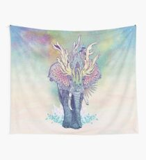Spirit Animal - Elephant Wall Tapestry