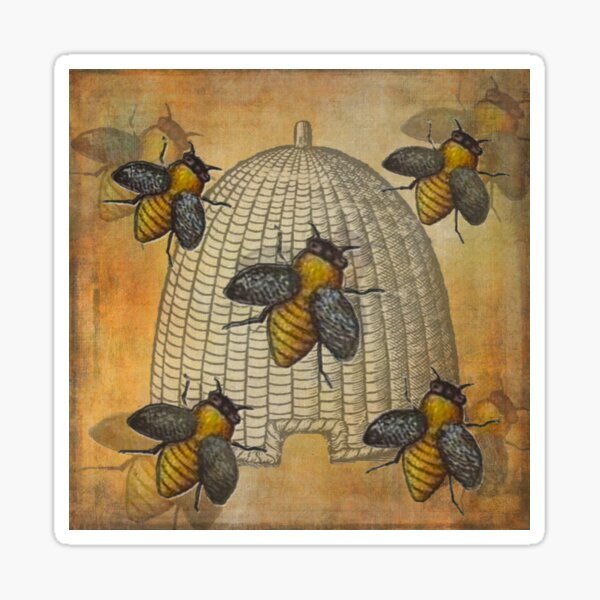 Telling The Bees Sticker