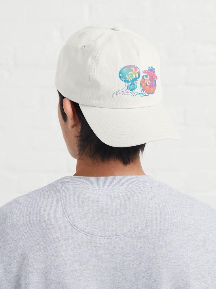 Alternate view of Jellyfish bus Cap
