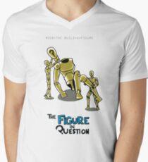 #008: The Build-A-Figure Men's V-Neck T-Shirt