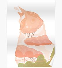 Surreal Bird  Poster