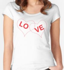 Couple Love Women's Fitted Scoop T-Shirt