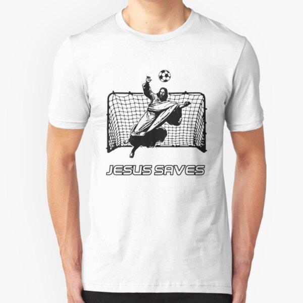 Jesus Saves Slim Fit T-Shirt