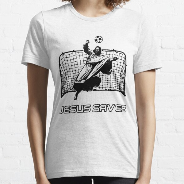 Jesus Saves Essential T-Shirt