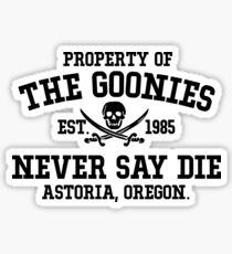 Die Goonies Sticker