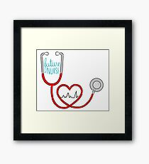 Future Nurse Framed Print