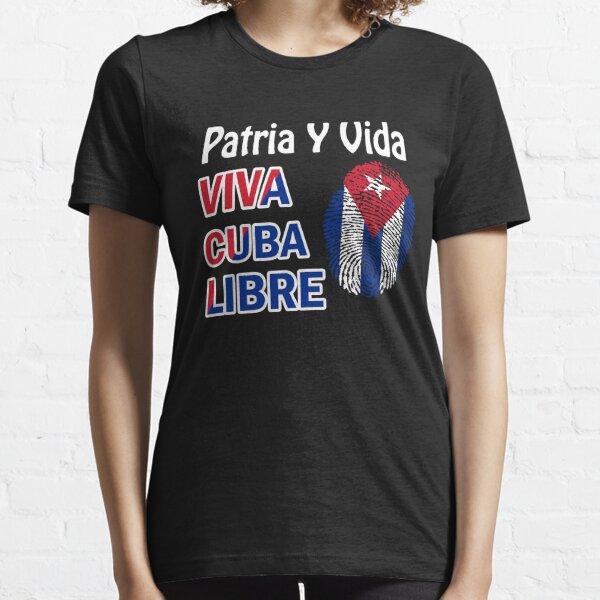 PATRIA Y VIDA VIVA CUBA LIBRE Essential T-Shirt