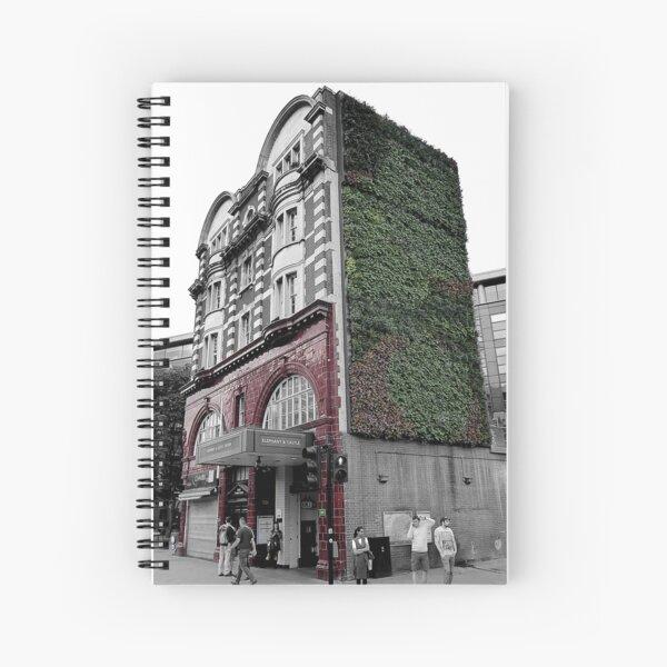 Fading London - Elephant & Castle Spiral Notebook