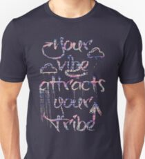 Your Vibe Attracts Your Tribe/ Aztec Unisex T-Shirt