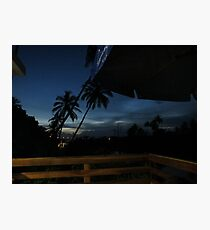Sunset Brazil Photographic Print
