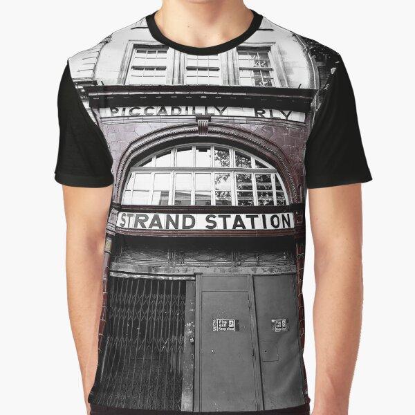 The Underground Logo Tee London Metro Railway Train Black Long Sleeve T-shirt