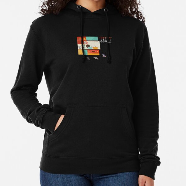 My Kitchen is haunted by rats. Lightweight Hoodie