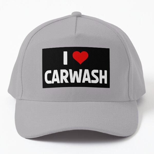 I love Carwash Heart Car Detailler Polisher Car Polish Car Lover Gift Baseball Cap