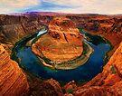 Horseshoe Bend, Arizona by Daniel H Chui